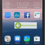Como tirar print de tela (screenshot) no Alcatel OneTouch Pop Star 4G